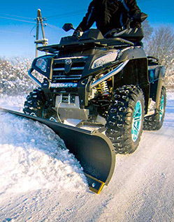 Become Iron Baltic ATV Plows Dealer